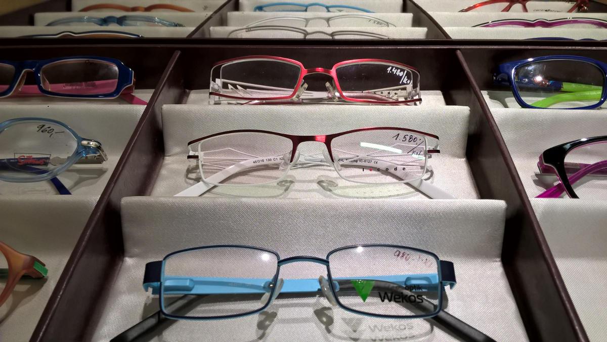 Čočky Varilux mohou udělat mulfifokální brýle prakticky ze všech obrouček,