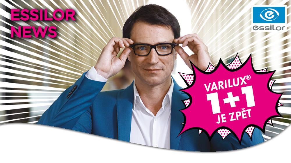 Multifokální brýlové čočky Varilux.